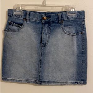QPD Blue Denim Skirt Size 7 juniors.